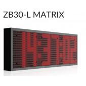ZB-30 L Matrix LED klok