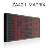 ZA-40 L Matrix LED klok