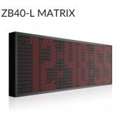 ZB-40 L Matrix LED klok